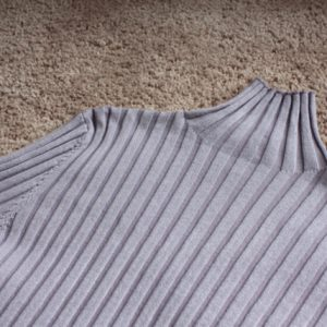 Striped knit sweater bruin & roze Fashion Faves By Fab